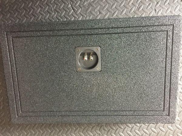 """Qbomb 12"""" speaker box"""