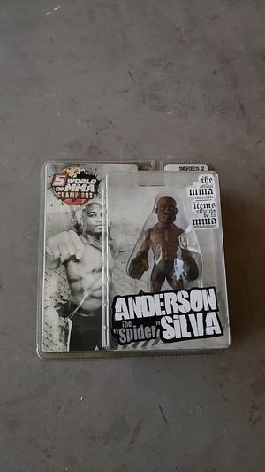Action Figure of Anderson the spider Silva for Sale in Santa Clara, CA