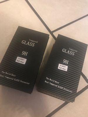 Tempered glass note 7 for Sale in Tyler, TX