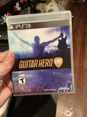 Guitar Hero Live for PS3 for Sale in Jenkintown, PA