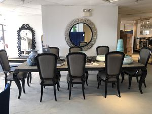 10pc after 8 Michael Amini dining set for Sale in Rockville, MD