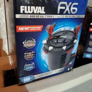 FLUVAL FX6 AQUARIUM CANISTER FILTER for Sale in Vancouver, WA