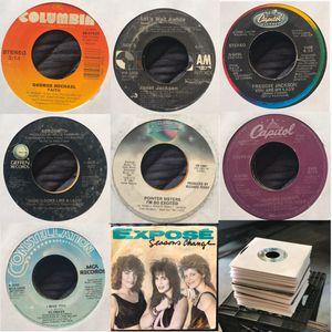 45 RPM (Vinyl Records) SET 4 SALE for Sale in Corona, CA