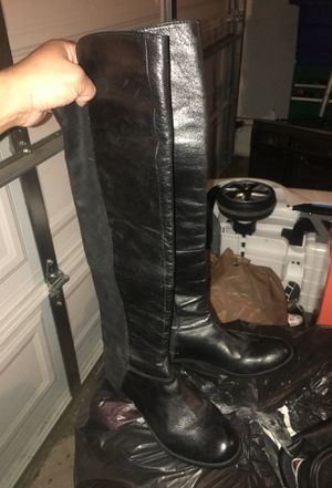 Hybirdd black womens boots size 7 for Sale in Los Angeles, CA