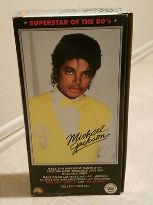 LJN Toy Co. Unopened 1984 Michael Jackson Collectible for Sale in Los Angeles, CA