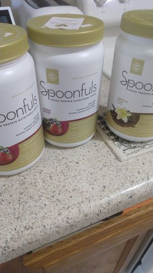 Free!!! Spoonfuls vegan protein nutritional shake for Sale in Comstock Park, MI