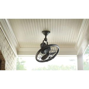Home Decorators Collection Bentley II 18 in. Indoor/Outdoor Tarnished Bronze Oscillating Ceiling Fan NEW for Sale in Plantation, FL