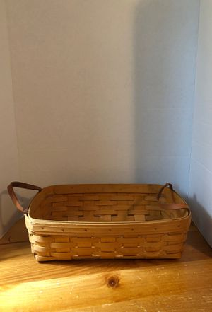 Longaberger basket for Sale in Bainbridge, PA