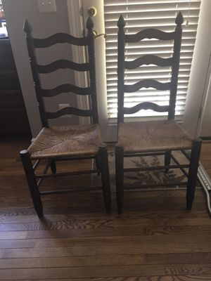 Two cane chairs for Sale in Alexandria, VA