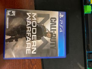 Ps4 Call of Duty MW for Sale in Waterbury, CT