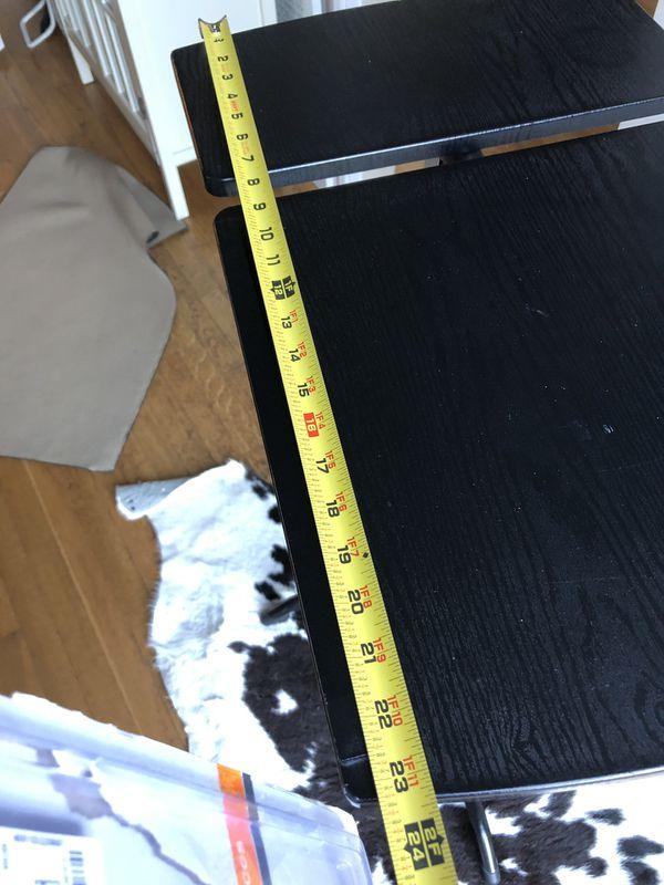 Black Sit Stand Laptop Stand standing Tilt Table Desk