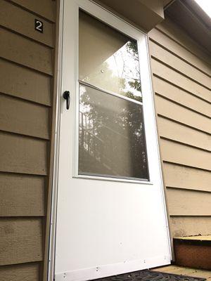Exterior screen door for Sale in Portland, OR