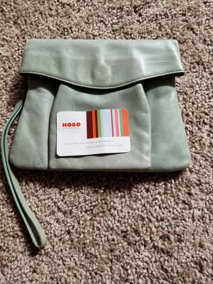 New light green clutch purse bag Hobo intl' coin for Sale in Tacoma, WA