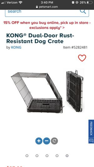 Dog Crate, Large, KONG for Sale in Rosamond, CA