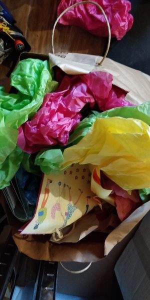 Two big bags of gift bags and tissue paper for Sale in Hayward, CA