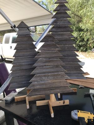 Handmade freestanding Christmas trees for Sale in Menifee, CA