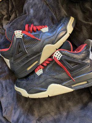 """Nike Air Jordan 4 Rare Air """"Black Laser"""" for Sale in Norwalk, CA"""
