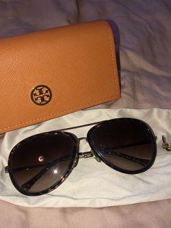 AUTHENTIC Tory Burch Tortoise Aviator Sunglasses for Sale in Nashville,  TN