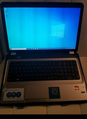Laptop hp 17.3 pavilion g7 AMD A6 6gb ram GRAPHYS RADEOM hd 1.50ghz for Sale in Tampa, FL