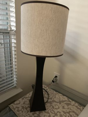 2 lamps available 15 each for Sale in Houston, TX