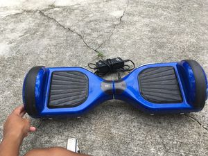 Hoverboard (blue) w/charger for Sale in VLG WELLINGTN, FL