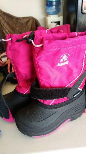 Kamik waterproof kids snow boots for Sale in Waxahachie, TX