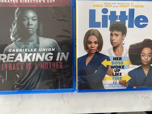 BLU-RAY movies (2 pack) Little & Breakin In for Sale in Angier, NC