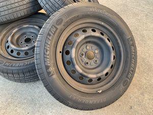 "15"" Toyota Corolla Wheels Tires Matrix Celica Prius Pontiac Vibe Rims for Sale in Rio Linda, CA"