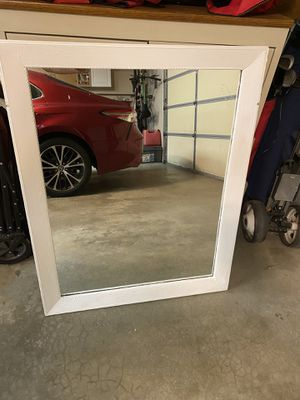 White mirror for Sale in Plainfield, IL