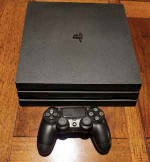 Ps4 pro , comes with controller and HMDI cord for Sale in Detroit, MI