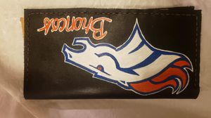 Broncos Real Leather Wallet for Sale in Aurora, CO
