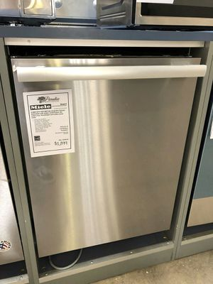 NEW Miele Stainless Steel Dishwasher w/ Knock2Open Feature 1 Year Manufacturer Warranty Included for Sale in Gilbert, AZ