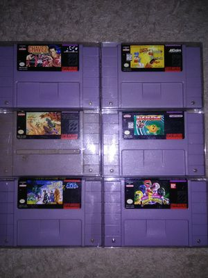 SNES game lot for Sale in Weirton, WV
