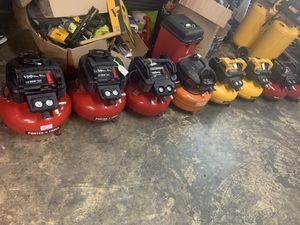 Compressor Porte cable ridgi dewalt for Sale in Houston, TX