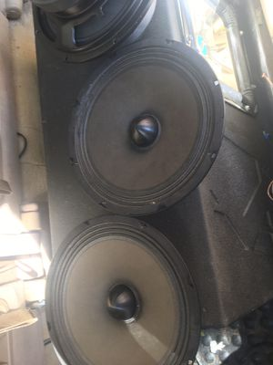 10 inches voice speakers 🔊 2000 watts for Sale in Boston, MA