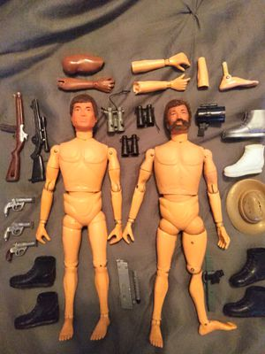 "(2) VINTAGE COLLECTIBLE 1964 G. I. JOE 12"" ACTION FIGURES WITH PARTS AND ACCESSORIES. for Sale in El Mirage, AZ"