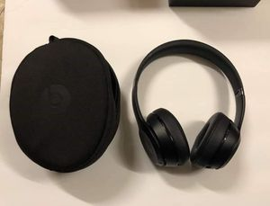 """OPEN BOX"" Beats Solo3 Wireless On-Ear by dr Dre Bluetooth Black Headphones for Sale in Gaithersburg, MD"