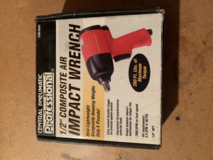 "1/2"" composite air impact wrench brand new in box for Sale in Overland, MO"