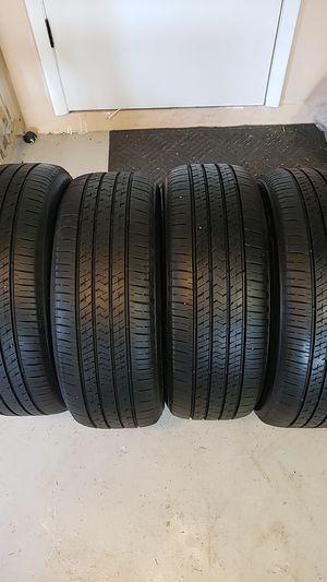 Bridgestone in good condition 4 tires 205 55 16 good tread for Sale in NEW PRT RCHY, FL