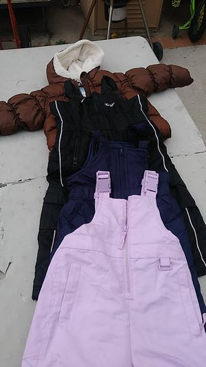 Snow bibs overalls n jacket 2T and 18 months for Sale in Bell, CA