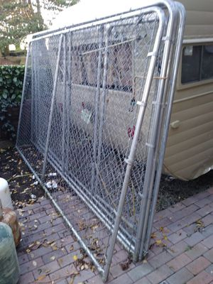Heavy Duty Outdoor chain link dog kennel for Sale in Tacoma, WA