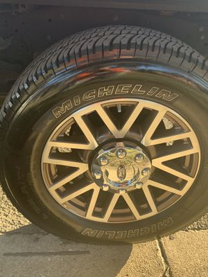 2016 f250 wheels and tires for Sale in San Antonio, TX