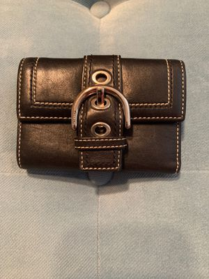 Black coach wallet for Sale in Clermont, FL