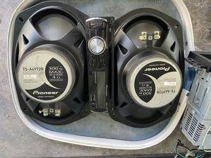 15' bass 4 door speakers 1 tweeter 1 radio for Sale in Plantation, FL