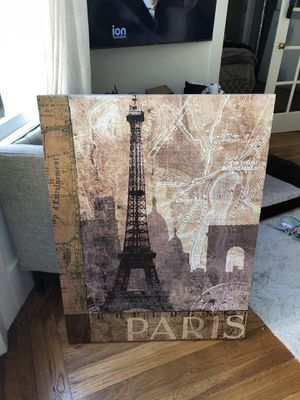 Paris Painting MSRP $99 + tax! for Sale in San Francisco, CA