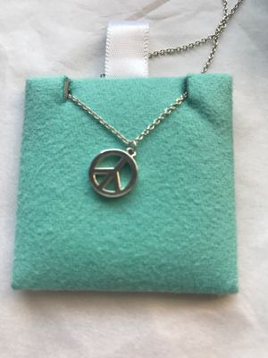 Tiffany & Co Peace necklace for Sale in Libertyville, IL