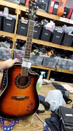 Fender Acoustic Electric Guitar for Sale in Tulsa, OK