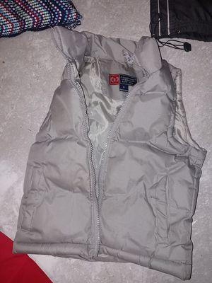 Kids down vest for under snow jacket size 6 for Sale in Roseville, CA
