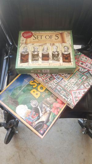$6 for all Puzzles and board games complete for Sale in Moreno Valley, CA