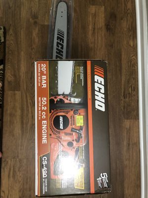 New Wcho Chainsaw 20inch for Sale in Joliet, IL